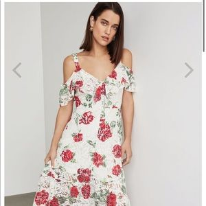 Floral BCBG DRESS NEW WITH TAGS NEVER WORN